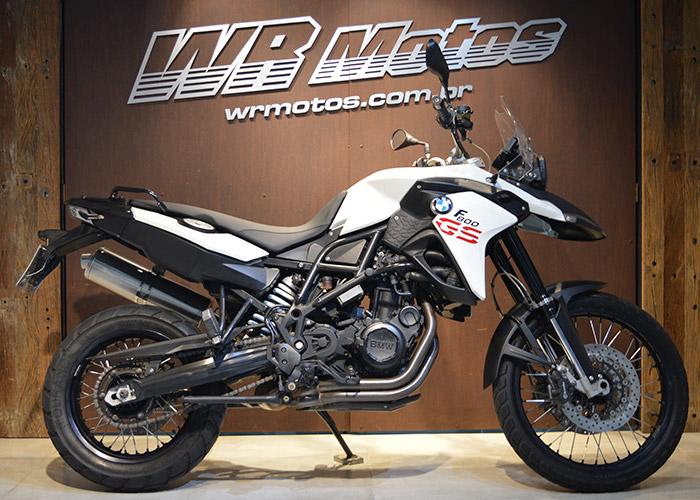 F 800 GS 798cc – Branco – BMW