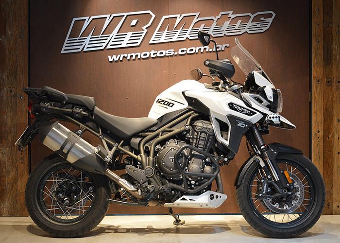 TIGER 1200 EXPLORER XCX – Branco – TRIUMPH